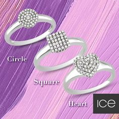 Circle, Square or Heart. What's your favorite shape?