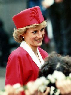 Princess Diana's stylish hats