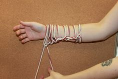 Arm knitting: instru