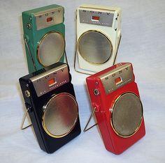 Vintage Transistor radio.