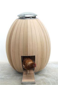 Modern Chicken coop for the Minimalistic chicken :P