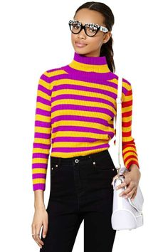 Vintage Esprit Earn Your Stripes Sweater