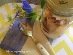 life in my empty nest: Spiced Plum Overnight Oatmeal