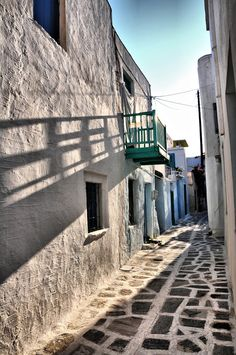 Morning in Paros Island, Greece