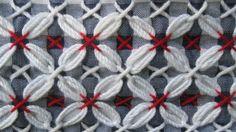 Navy Blue Chickenscratch Half Apron by ANaturalistsAttic on Etsy