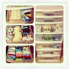 My Cloth Diaper organization.