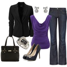 Business Casual, Polyvore