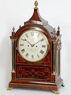 English Regency mantlepiece clock. c 1820