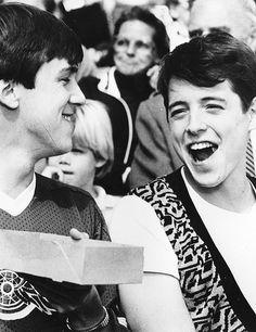 Ferris Bueller (Matthew Broderick) and Cameron Frye (Alan Ruck).