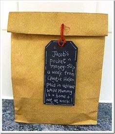 Lunch bag Gift Bag