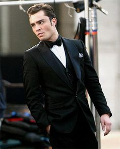 Always so classy, Chuck Bass.
