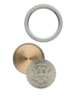 Spy Coin: Hollow coin for secret messages.