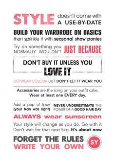 The Styling You Manifesto