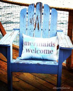 Mermaids Welcome at Tybee Island