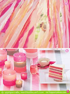 Tons of ways to decorate with streamers