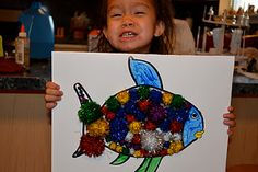 The Rainbow Fish activities. Too cute!