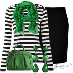 Emerald Look, created by tayswift-1d on Polyvore