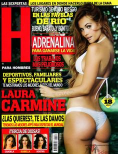 Laura Carmine Revista H Mayo 2014 [Scans HQ] | FamosasMex