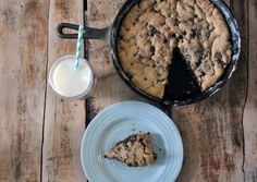 skillet cookie - one pan no bowls!