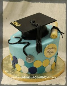Graduation Cake. Maybe different colors