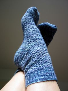 Hermione's Everyday Socks by greenhouse knitter,