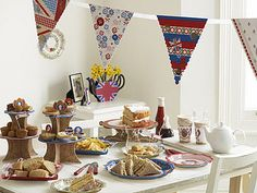 wedding parties, street party, sandwich, royal weddings, british party, baby shower themes, afternoon tea, party cakes, baby showers