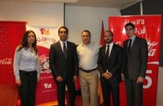 Coca-Cola and KidZania Cairo signed a five-year contract.