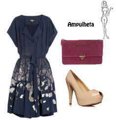 Look simples e elegante.
