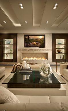 Modern yet cozy