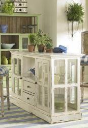decor, kitchens, idea, kitchen islandold, old windows, kitchen windows, diy, kitchen islands, design