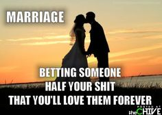 marriage..