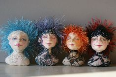 FREE SIMPLE NEEDLE-SCULPTING TUTORIAL by MARLA NIEDERER   ORSINI'S ANGELS