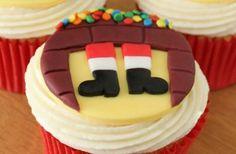Santa's Coming Cupcakes