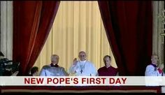 'New Pope's First Day' (apertura BBC World News) / Pope Francis / Papa Francisco I