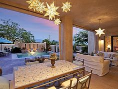 The stars are out and that pool is calling your name!