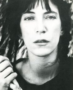 "Patricia Lee ""Patti"" Smith is an American singer-songwriter, poet and visual artist, who became a highly influential component of the New York City punk rock movement with her 1975 debut album Horses.  Google Search punk rock, music, artists, bombs, bomb magazin, visual artist, patti smith, rocks, punkrock"