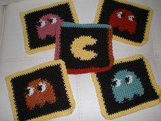 Def going to make these for my nerd friends lol. Thinking about making a bunch then crocheting together to make a blanket!