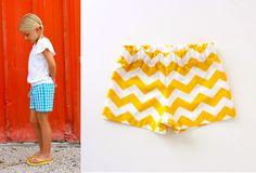 Sewing KID Shorts: The BASIC Shorts   MADE