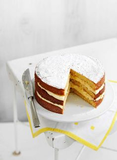 very lemony cake