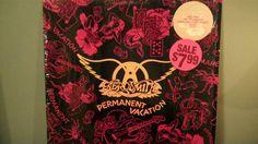 Aerosmith Permanent Vacation Vinyl Record by TurnAroundRecords, $10.00