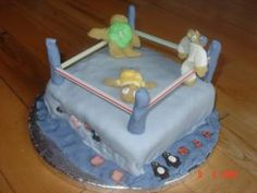 BJ's Blog : Birthday Cake - Boxer in a Ring by mykidstime.ie