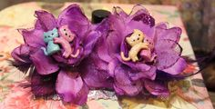 Kitten cats Hearts Rockabilly Flower Set Kawaii by FilthyCoffin, $11.00