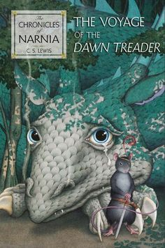 The Voyage of the Dawn Treader, US Edition in Hardcover and Paperback. With cover art by three-time Caldecott Winner David Wiesner and original interior illustrations by Pauline Baynes.