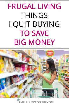 Become a frugal savi