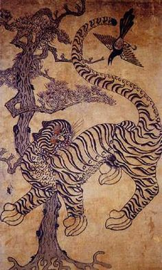 korean tigers on pinterest tiger painting korean