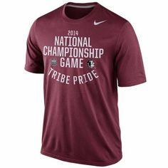 Nike Florida State Seminoles (FSU) 2014 BCS National Championship Game Bound T-Shirt - Garnet - games, bound florida, bcs nation, championship game, game bound, florida seminoles, men tshirt, nike nation, florida state seminoles