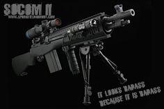 Bring enough gun, Springfield Armory SOCOM II.