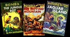 Three G&D Bomba covers with the illustrator (Burger) uncredited.