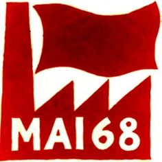 """May 2,1968 - beginning of the """"May 68"""" student (social!) protest in Paris, France (following months of conflicts between students and authorities at the University of Paris at Nanterre, the administration shut down that university on this day)"""