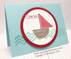 What's Your Type?, Work of Art, Itty Bitty Banners, Stampin' Up!, Brian King new stampin up 2014-2015, the wave, what's your type stampin up, bitti banner, sailboat card, stampin up what's your type, stampin up whats your type